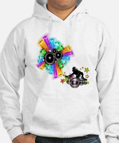 Rock out with the DJ - Music Shi Hoodie