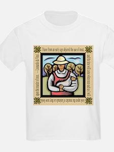 Vegetarian da Vinci Quote T-Shirt