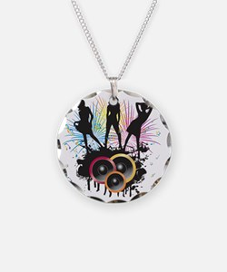 Party all night long - Music Necklace