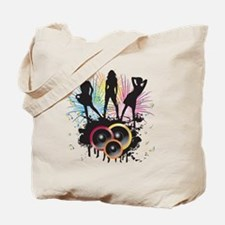 Party all night long - Music shirt Tote Bag