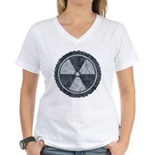 Distressed Gray Radiation S Shirt