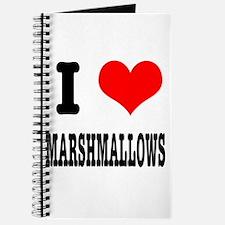 I Heart (Love) Marshmallows Journal