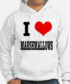 I Heart (Love) Marshmallows Hoodie