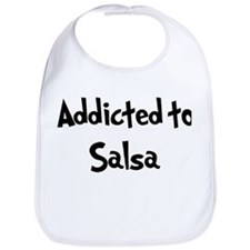 Addicted to Salsa Bib