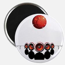 Disco Ball - Equalizer - Music Shirt Magnet