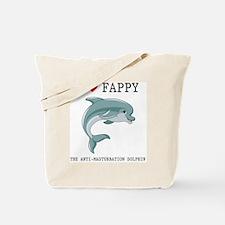 I Heart Fappy, The Anti-Masturbation Dolp Tote Bag