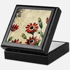 Anemone Flowers Keepsake Box