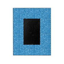 Aqua Glitter Picture Frame