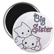 Cute Kitty Big Sister Magnet