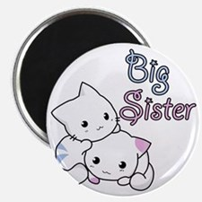 Cute Kitty Big Sister Magnet