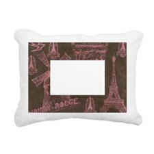 Paris France Rectangular Canvas Pillow