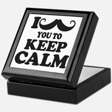 I Mustache You To Carry On Keepsake Box