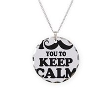 I Mustache You To Carry On Necklace