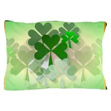 Pillow_caseThe Faded Shamrocks2 Pillow Case