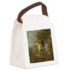 Out for a Ride Canvas Lunch Bag
