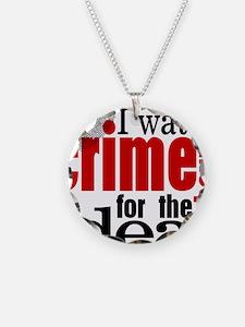 Crime Show Ideas Necklace