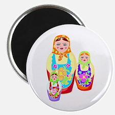 Russian Matryoshka Nesting Dolls Magnet