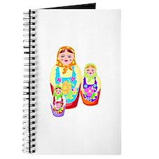 Russian Matryoshka Nesting Dolls Journal