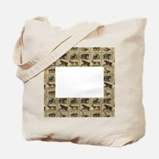 Vintage Animals Tote Bag