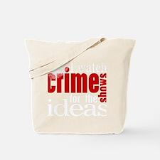 Crime Show Ideas Tote Bag