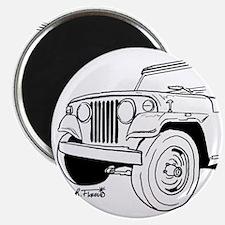 Jeepster Commando C101 Magnet