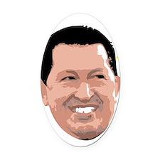 Chavez Santo Plain Oval Car Magnet