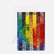 Curtains-4464wx6192h Greeting Card