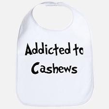 Addicted to Cashews Bib