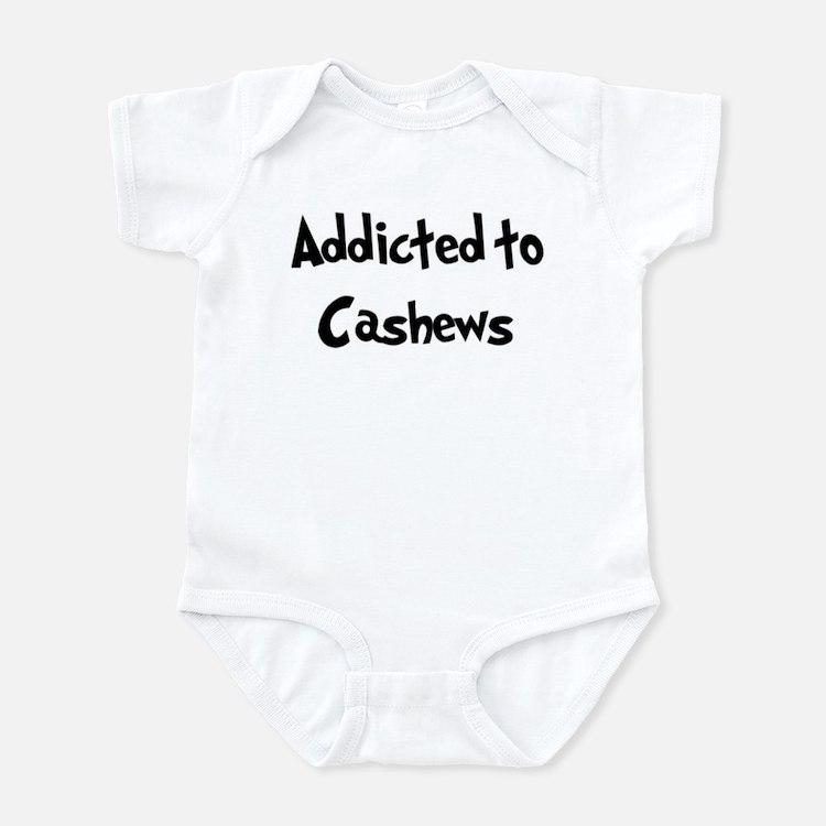 Addicted to Cashews Infant Bodysuit