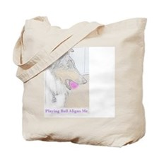 Playing Ball Aligns Me Tote Bag
