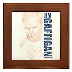 Jim Bowl Framed Tile