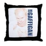 Jim Bowl Throw Pillow