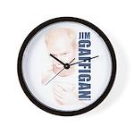 Jim Bowl Wall Clock