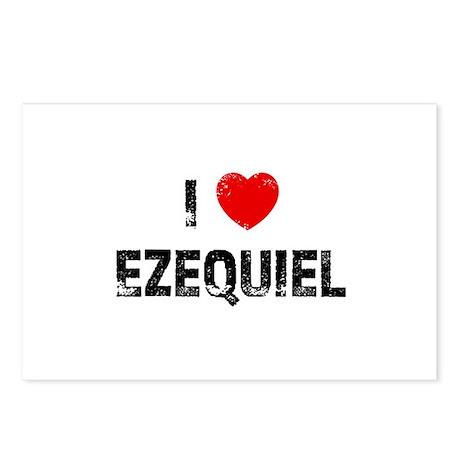 I * Ezequiel Postcards (Package of 8)