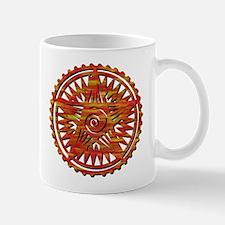 Earth Symbol Rusted Mug