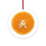 Slice of Orange Ornament (Round)