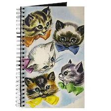 Vintage Kittens in Bow Ties Journal