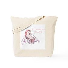 Assateague Wild Pony Sketch Tote Bag