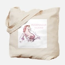Assateague Wild Pony Sketch Tote Bag
