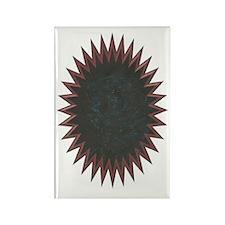Starbrust Brown Rectangle Magnet