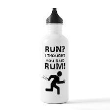 Run? Rum! Water Bottle