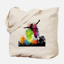 Jump to the Beat - Music Shirt Tote Bag