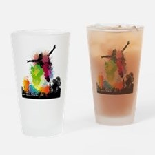 Jump to the Beat - Music Shirt Drinking Glass