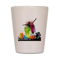Jump to the Beat - Music Shirt Shot Glass