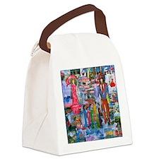 Paris Girls Canvas Lunch Bag