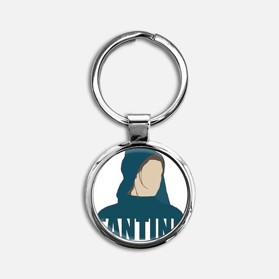 Fantine - Anne Hathaway - Les Miser Round Keychain