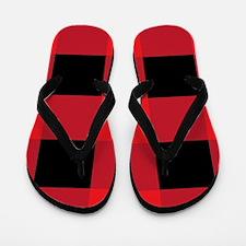 Cherry Squares Flip Flops