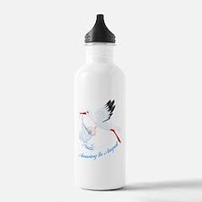 Arriving in August Water Bottle