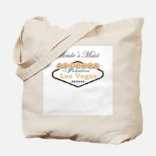 Las Vegas Bride's Maid Tote Bag Peach