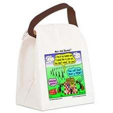 Ants at Picnic Canvas Lunch Bag